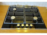 4-Burner Bosch Gas Hob with easy-to-clean Ceramic Glass top