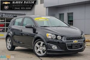 2016 Chevrolet Sonic LT Sunroof*Heated seats*Remote start*Rear C