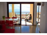 Winter lets- luxury holiday apartment in Spain- sleeps 6 WIFI near sandy beaches