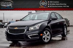 2016 Chevrolet Cruze LT|Sunroof|Backup Cam|Bluetooth|R-Start|Lea