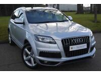 FINANCE AVAILABLE (12) Audi Q7 3.0 TD S Line Tiptronic Quattro 5dr **1 OWNER** FULL AUDI HISTORY
