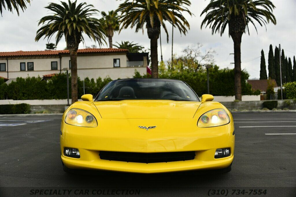 2006 Yellow Chevrolet Corvette  3LT | C6 Corvette Photo 2