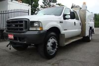 2004 Ford F-550 IMT Crane. 4x4 , 4x4, 4x4, Hydraulic and Air too