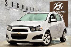 2013 Chevrolet Sonic LS MANUELLE BLUETOOTH