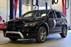 2017 Dodge Journey CROSSROAD * DVD * CUIR * TOIT * GPS * 7 PLACE
