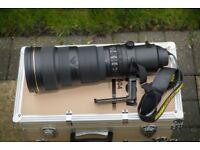 AF-S Nikkor 500mm f/4 G ED VR