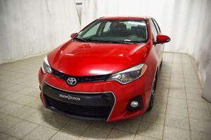 2015 Toyota Corolla S Gr.Electrique, Roue en alliage, Climatiseu
