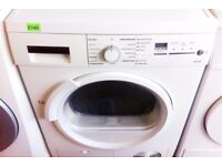 SIEMENS - White, 7KG, B Rated, Sensor Dry CONDENSER DRYER + 3 Months Guarantee + FREE LOCAL DELIVERY