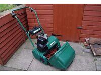 cylinder petrol mower self drive qualcast classic 35 c