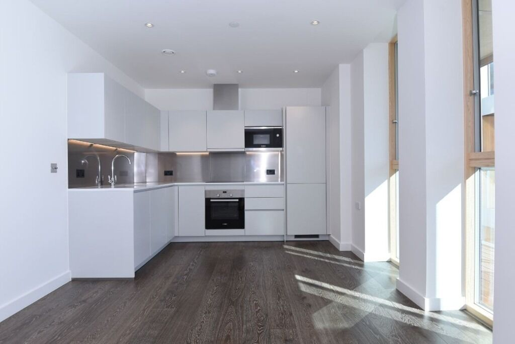 A brand new one bedroom apartment set on the first floor of this popular development in Queens Park