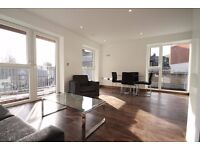 Superb 2 double bedroom 2 bathroom apartment, heart of Shoreditch E2, walk to city, comes furnished
