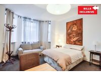 COME AND SEE IT~LARGE STUDIO IN THE HEART OF SOUTH KENSINGTON~ALL BILLS/PORTER SERVICE/WIFI INCLUDE