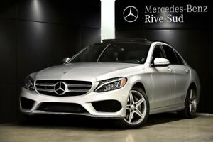 2015 Mercedes-Benz C300 4MATIC, LED, Toit pano, GPS