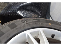 VOLVO XC90 18 INCH ALLOY WITH ALMOST NEW TYRE 7MM 235/60/18