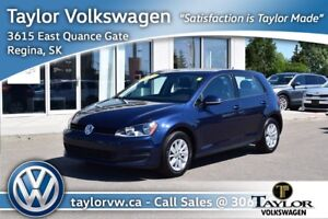2017 Volkswagen Golf 5-Dr 1.8T Trendline 6sp at w/Tip Certified