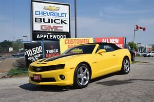 2011 Chevrolet Camaro ONLY 11000KM, 2SS, SHOWROOM CONDITION