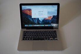 "Apple MacBook Pro 13"", i5 2.5 GHz, 250 GB SSD, 8 GB RAM 1600MHz (Mid 2012) 10.11.6, Adobe CC, Office"