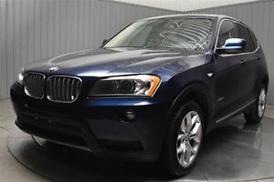2011 BMW X3 PREMIUM AWD CUIR TOIT PANORAMIQUE MAGS