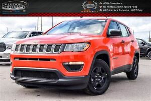 2018 Jeep Compass New Car Sport|Backup Cam|Bluetooth|R-Start|Hea