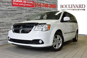 2016 Dodge Grand Caravan CREW PLUS CUIR CAMERA NO ACCIDENTS