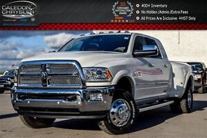 2017 Ram 3500 Longhorn|4x4|Only 63KM|Navi|Sunroof|5th Wheel/Goos