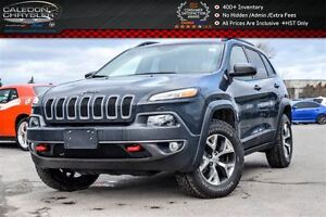 2016 Jeep Cherokee Trailhawk|4x4|Backup Cam|Bluetooth|R-Start|He