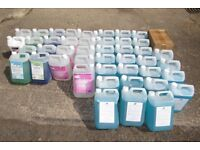 Joblot 46 High Quality PHS Commercial Cleaning Products Antibacterial Cleaner Restaurants Cafe etc
