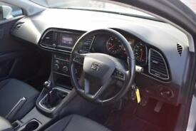 SEAT LEON 2.0 TDI SE TECHNOLOGY 5 Door Hatchback 150 BHP (silver) 2014