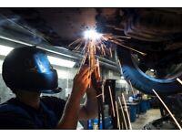 Car welding Car bodywork