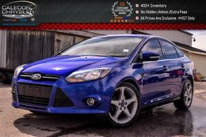 2013 Ford Focus Titanium|Sunroof|Backup Cam|Bluetooth|R-Start|Le