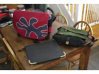 Crumpler and Timberland Messenger Bags
