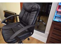 Leather Office Chair Very Good Condition and very Soft Leather very comfortable