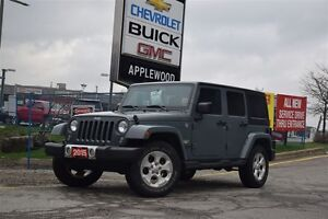 2015 Jeep Wrangler ONE OWNER, ACCIDENT FREE, UNLIMITED WRANGLER