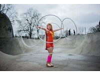 Highly-Skilled Hula Hooping Party Entertainer | Birthdays, Weddings, Hen Dos | Shows & Workshops