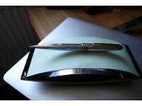 MONT BLANC SOLID SILVER PURPELING PENCIL