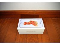 Original Apple iPhone 6S 32GB empty box with a charger