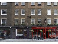 8 PERSON OFFICE TO RENT JUST OFF CARNABY STREET, SOHO - £4,950 PCM + VAT ALL INCLUSIVE - MID MAY