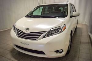 2015 Toyota Sienna XLE, AWD, 7 Passagers, Toit Ouvrant, Interieu