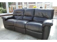 SOLD Free furniture - Recliner sofa, cabinets