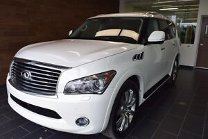 2012 Infiniti QX56 7 Passenger Technology Package, AWD, Sunroof,