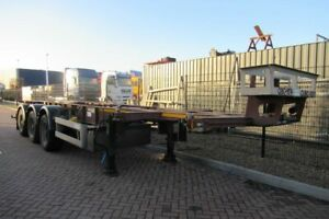 Vanhool Tank-container chassis / 20-30FT / Disc Brakes /