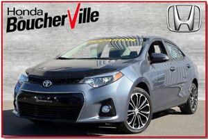 2014 Toyota Corolla S  impeccable  jamais accidenté