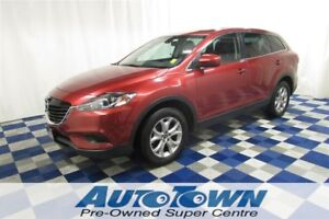 2014 Mazda CX-9 GS AWD/REAR CAM/LEATHER/SUNROOF/3RD ROW SEAT