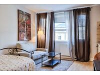 LARGE STUDIO APARTMENT~2 MINUTES WALKING FROM THE STATION~ALL BILLS INCLUDE~COUPLE/STUDENT WELCOME~