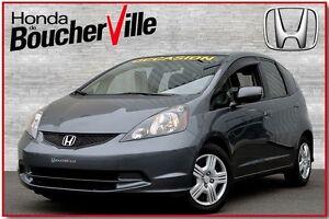 2013 Honda Fit LX bluetooth, jamais accidenté