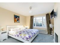 SHORT LET: A three double bedroom flat boasts wooden flooring a private street entrance and a garden