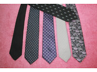 Gent's Ties, Various, Harrods, Daniel Hechter, Michelson and others.