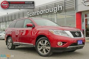 2014 Nissan Pathfinder Platinum-ACCIDENT FREE AND LOADED!!!!