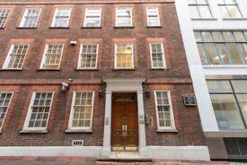 Central London office work space or desks to let EC4A (D1)