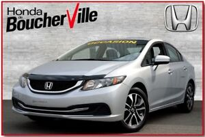 2014 Honda Civic EX Toit Camera Bluetooth bas kilometrage
